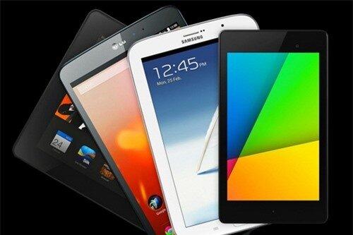 Bốn máy tính bảng Android