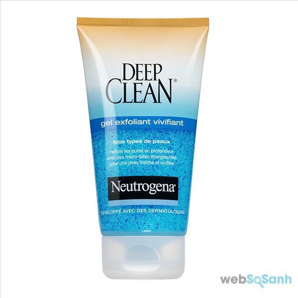 kem tẩy da chết Neutrogena Deep Clean gel