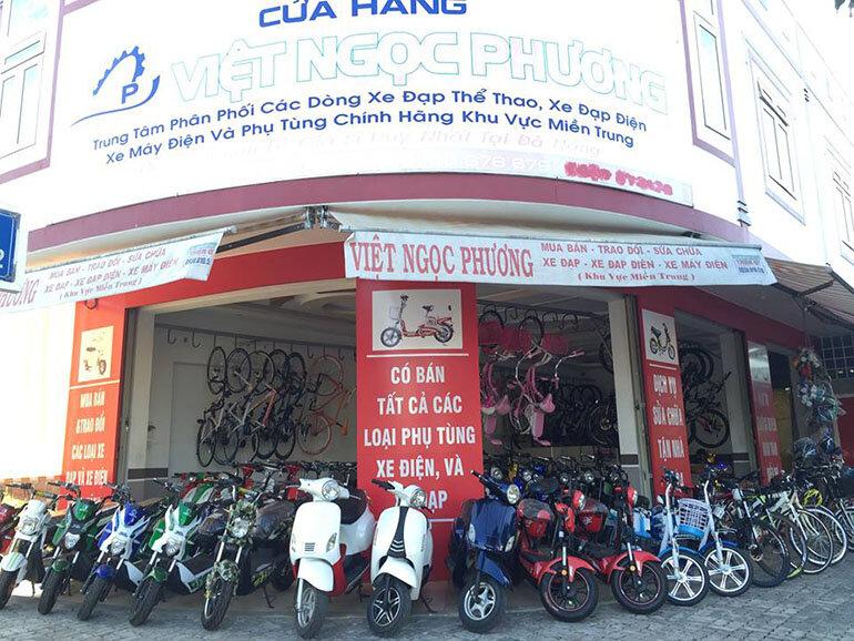 Đại lý xe máy điện tại Đà Nẵng Việt Ngọc Phương (Nguồn: facebook.com)