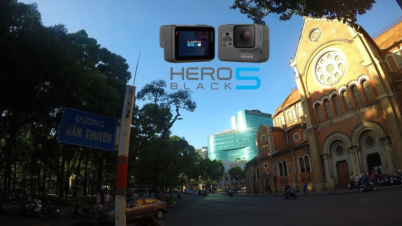 Ảnh chụp từ GoPro 5 có vẻ sắc nét và tự nhiên hơn GoPro 4