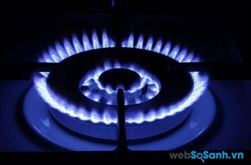 Ngọn lửa từ gas chuẩn thường có màu xanh