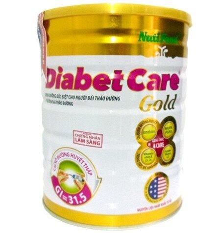 Sữa bột dành cho người tiểu đường NITIFOOD DiabetCare Gold 900g