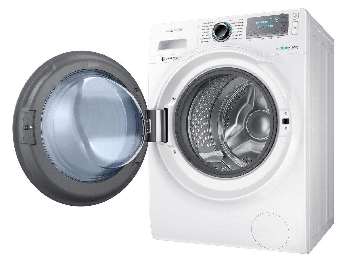 Samsung WW95H7410EW/SV với 14 chế độ giặt dành cho gia đình