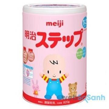 Sữa bột Meiji Nhật Bản xách tay
