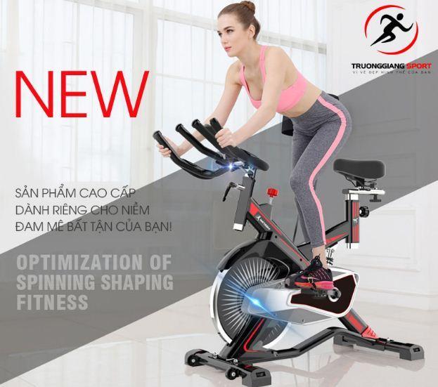 chiếc xe đạp tập thể dục Spin bike New