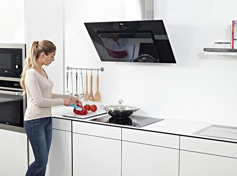 Máy hút khói Teka mang đến không gian phòng bếp thêm sang trọng