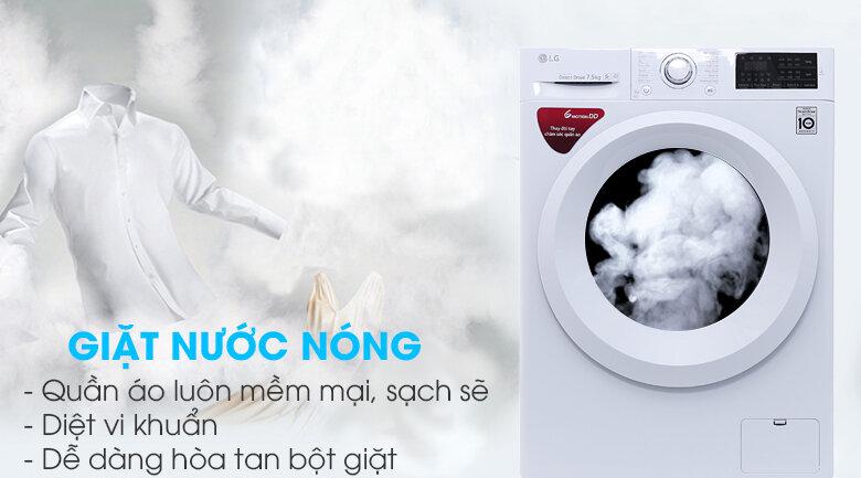 Dòng máy giặt inverter LG FC1475N5W2 7.5kg