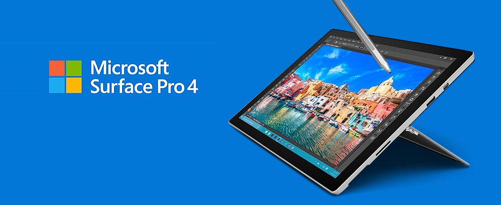 Máy tính bảng Microsoft Surface Pro 4 4GB/128GB Intel Core m3
