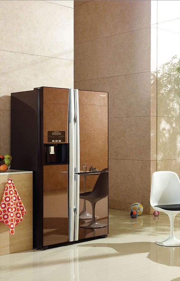Tủ lạnh Hitachi Side By Side 3 cửa 584L R-M700GPGV2X