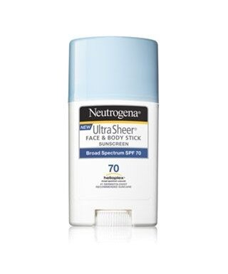 Neutrogena Ultra Sheer Face & Body Stick Suncreen SPF 70