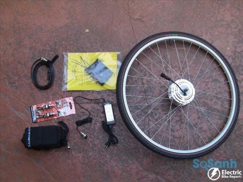 tự chế xe đạp điện trợ lực