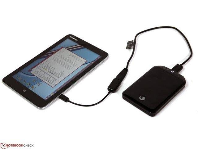 Nếu bạn muốn kết nối với các thiết bị ngoại vi khác, cần phải có bộ chuyển đổi MicroUSB