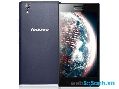 Lenovo P70 lại có phong cách thiết kế hoàn toàn đối lập với việc xuất hiện nhiều góc cạnh, làm cho chiếc smartphone này nhìn rất nam tính.