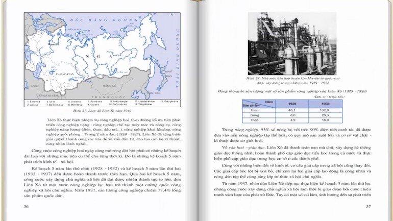 Sách lịch sử 11 có độ khó tương đối cao