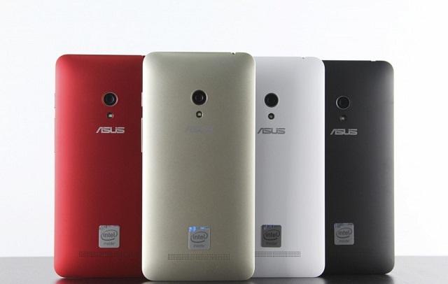 Zenfone 5 màu vàng và đỏ cập bến thị trường Việt Nam