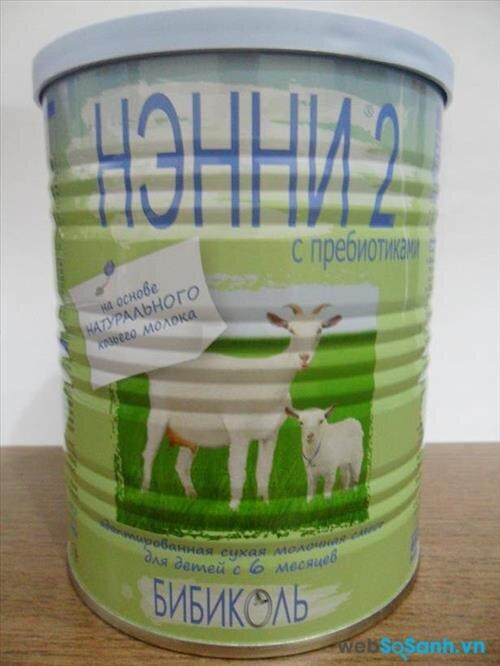 Sữa bột Nanny Vitacare Nga