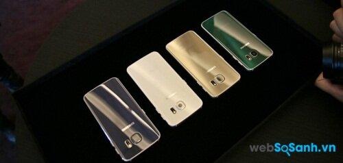 Galaxy S6 đem đến cho người dùng 4 tuỳ chọn màu sắc sang trọng và cá tính