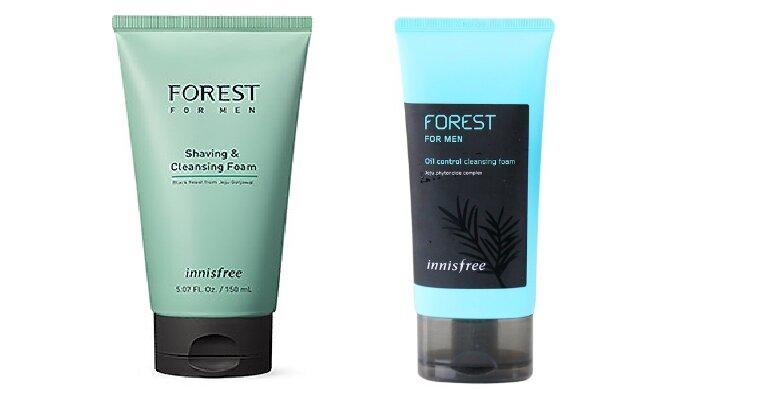 Sữa rửa mặt Hàn Quốc cho nam Innisfree Forest for Men - Giá tham khảo từ 149.000 vnđ - 299.000 vnđ/ tuýp 150ml tùy loại