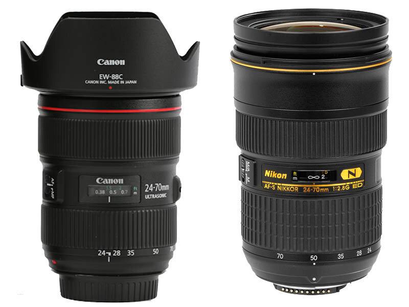 Các loại ống kính máy ảnh zoom tiêu chuẩn