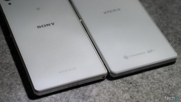 Xperia Z2 phiên bản quốc tế và phiên bản China Mobile