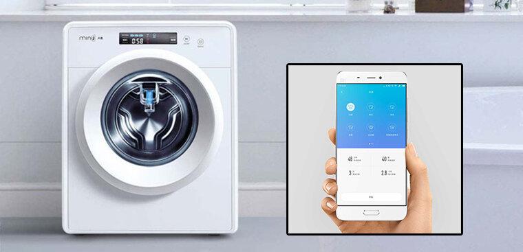 máy giặt lồng ngang Mini J của Xiaomi