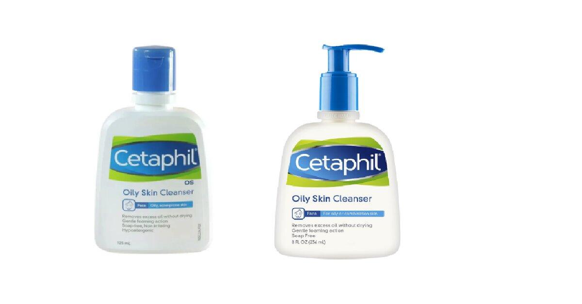 Review sữa rửa mặt Cetaphil Oily Skin Cleanser cho da dầu