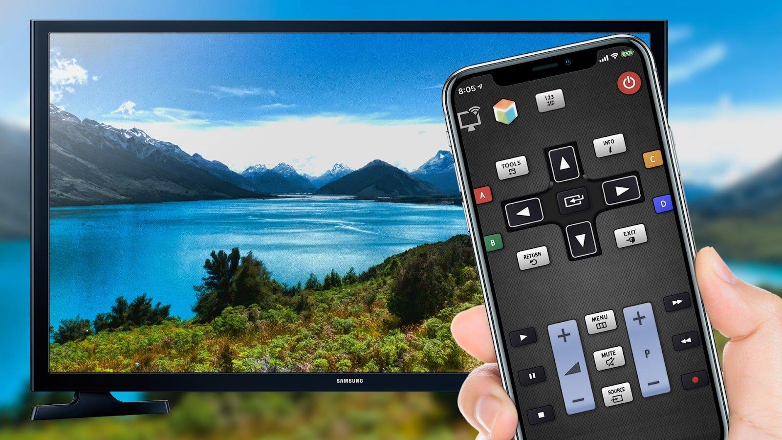 Tận hưởng tất cả ứng dụng giải trí của điện thoại trên tivi.