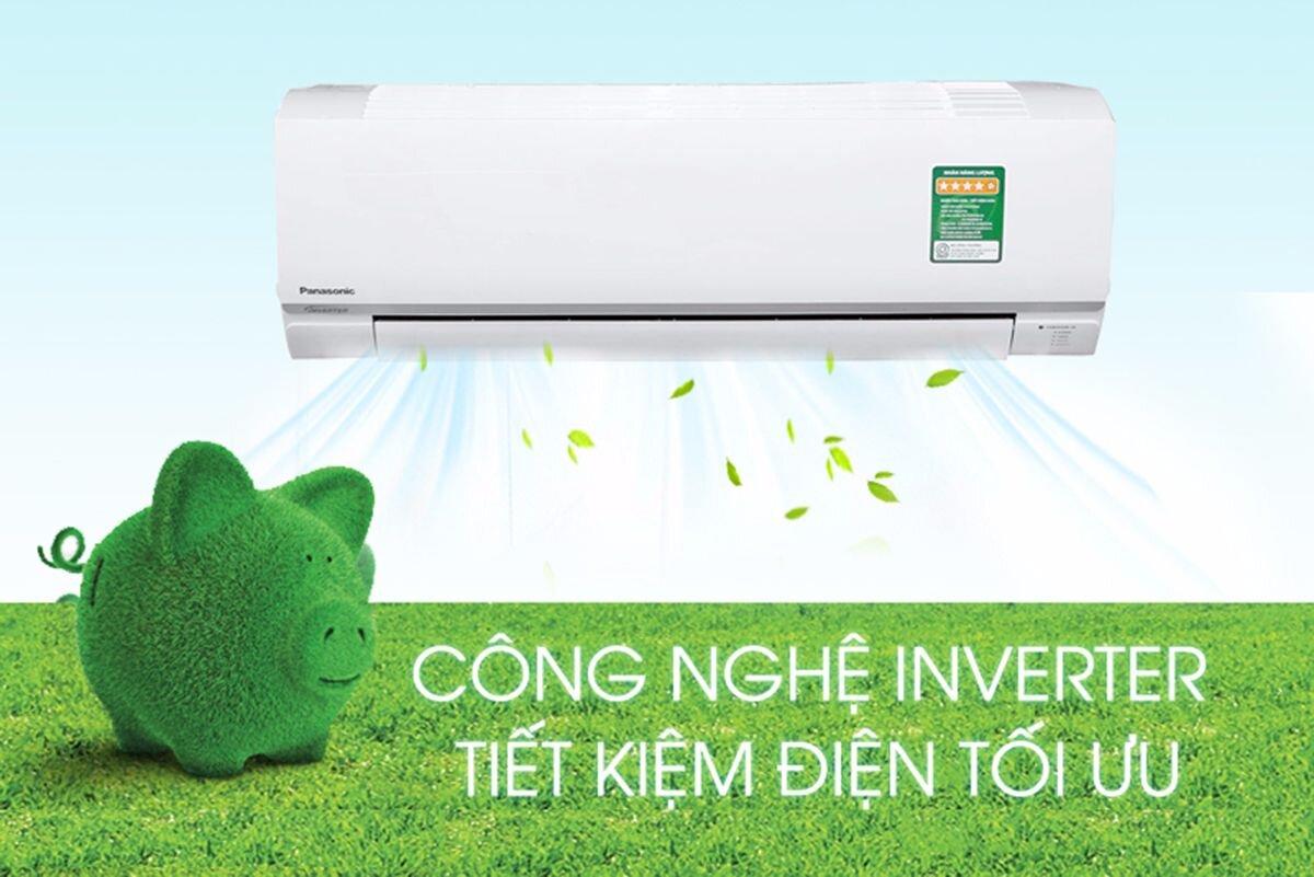 Công nghệ Inverter giúp tiết kiệm điện năng