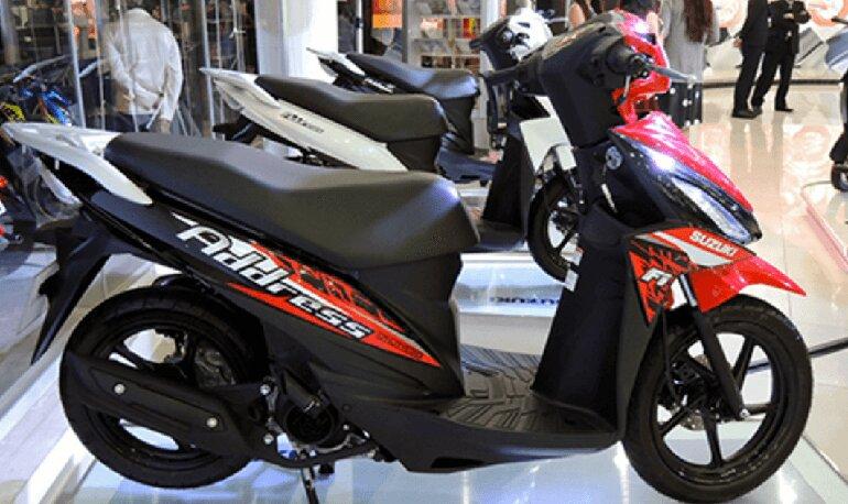 các loại xe máy suzuki