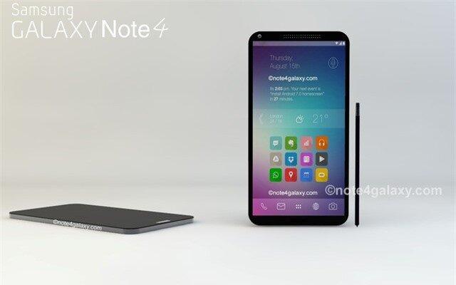 Galaxy Note 4 sẽ được trang bị màn hình Quad HD 5,7 inch?