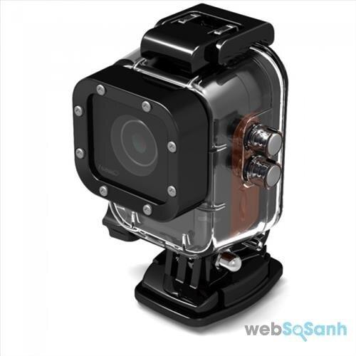 Camera hành trình iSAW có khả năng chịu nước