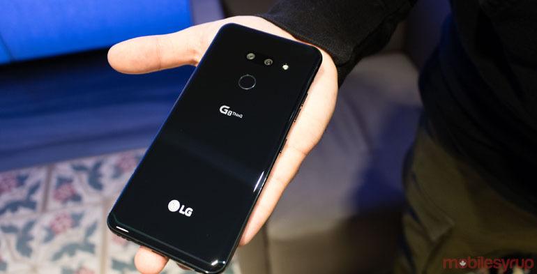 review điện thoại lg g8 thinq