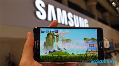 Bộ vi xử lý mạnh giúp Galaxy A7 vận hành mượt mà