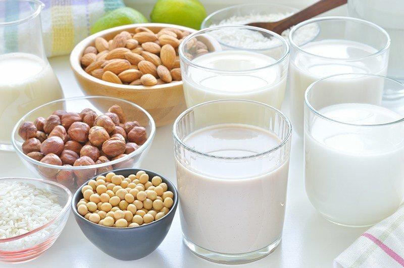 Sữa hạt tốt cho sức khỏe