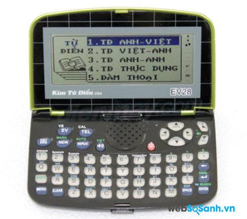 Kim từ điển EV28. Nguồn Internet.