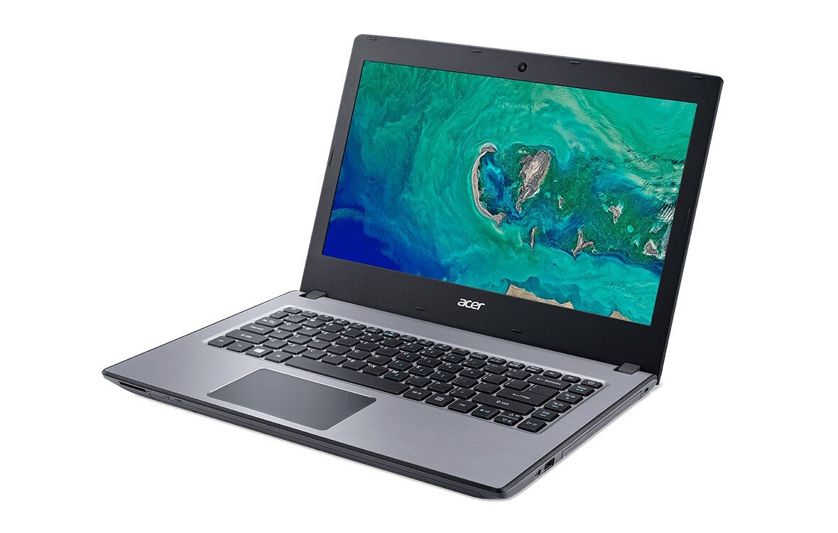 Laptop Acer E5-476-34C0 NX.GWTSV.006 14 inches xám