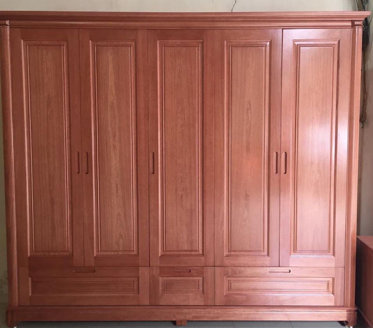 Giới thiệu các chất liệu tủ quần áo gỗ phổ biến hiện nay