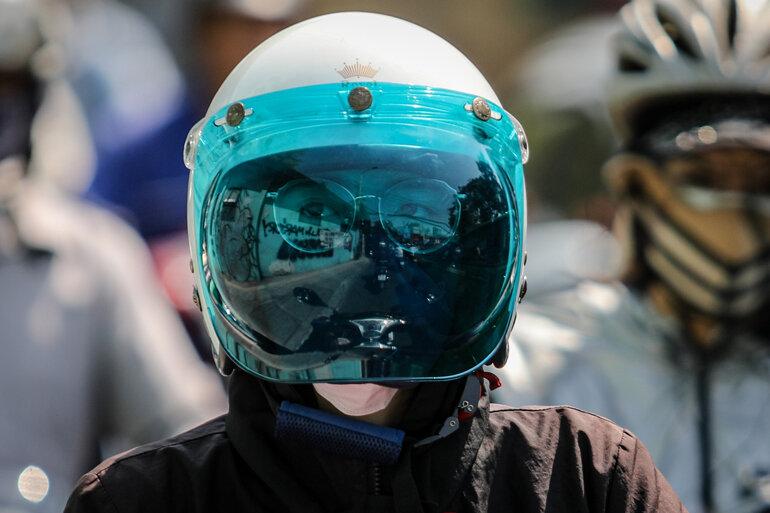 mũ bảo hiểm chống tia UV