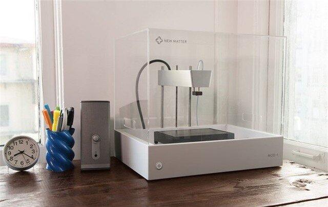 New Matter MOD-t: Máy in 3D giá rẻ cho hộ gia đình