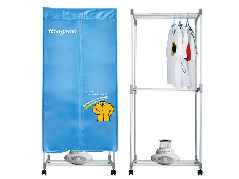 Tủ sấy áo quần Kangaroo có giá thành rất hợp lý
