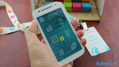 Công nghệ LTE có trên Moto E 2015
