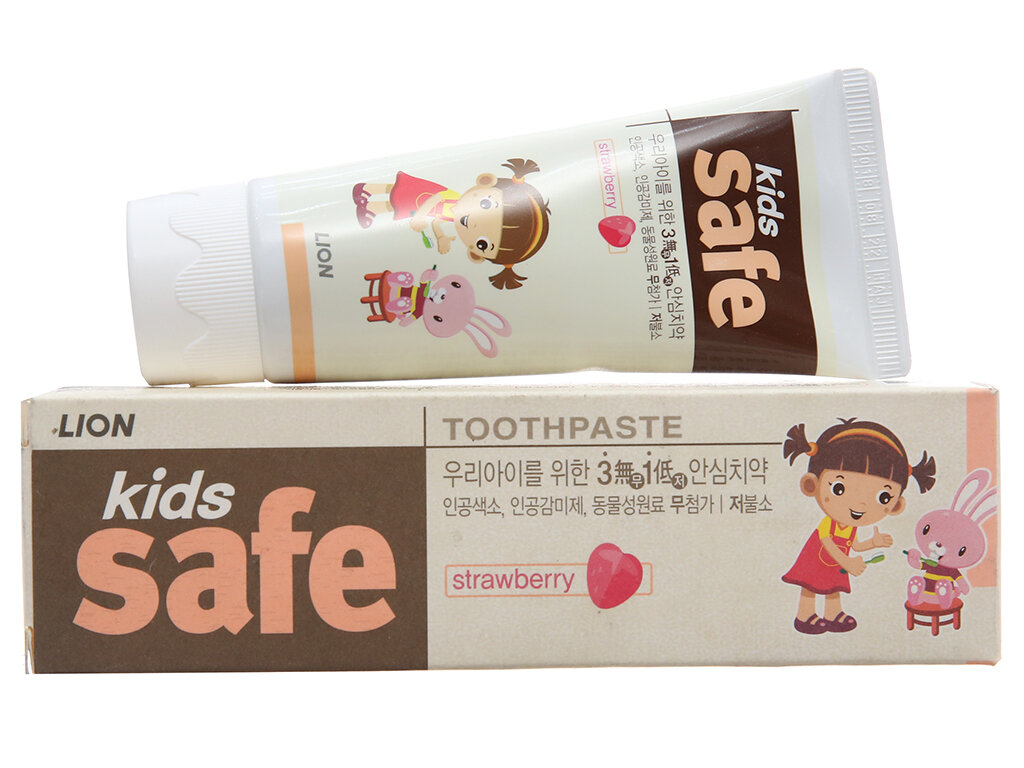 Kem đánh răng Kids Safe