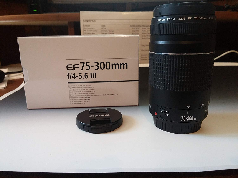 Ống kính Canon EF 75-300 mm f/4-5.6 III