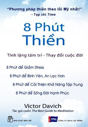 Cuốn sách 8 Phút Thiền