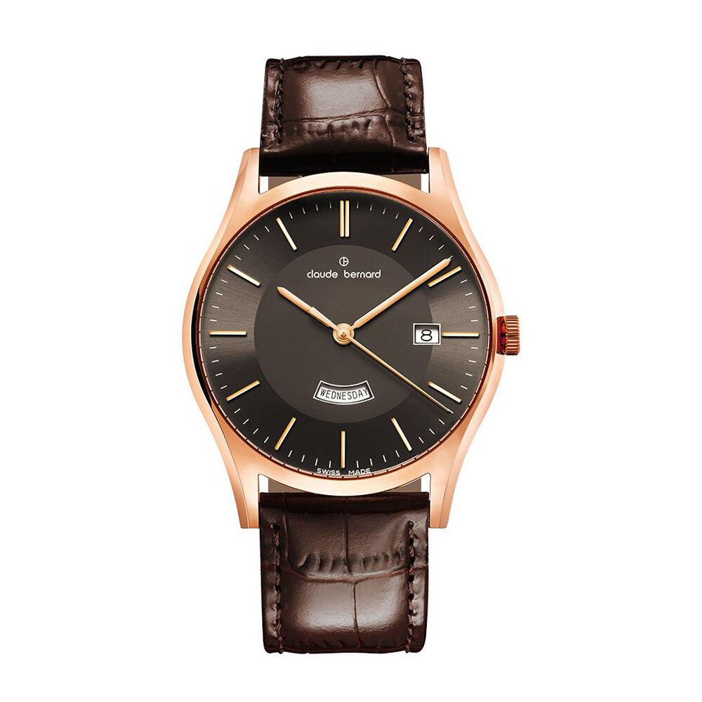Đồng hồ kim Claude Bernard 01002.3.NIN lịch lãm, nam tính
