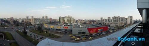 Ảnh panorama chụp bởi camera sau của Galaxy A3