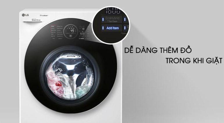 Máy giặt sấy LG Inverter 10.5 kg FG1405H3W - Giá rẻ nhất: 18.050.000 vnđ