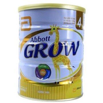 Sữa bột Abbott Grow 4 cho trẻ từ 3 - 6 tuổi 900g (Mã SP: 031474)