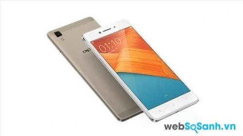 Điện thoại R7 Lite chạy Android 5.1.1 với giao diện, phần mềm tùy biến ColorOS v2.1