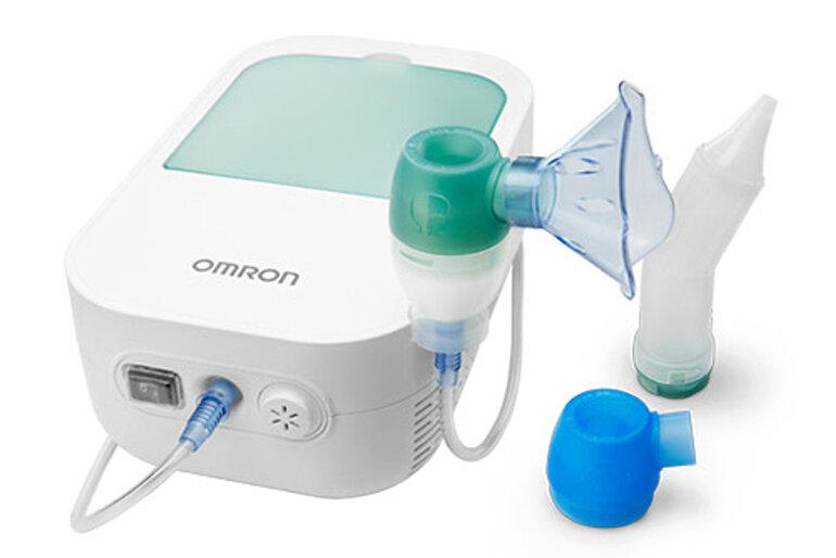 Máy phun sương Omron cho trẻ dưới 1 tuổi có 2 chức năng
